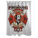 Doggy Decor Firehouse Ale Polyester Shower Curtain