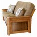 Big Tree Furniture Premium Hardwood Series Cascade Full Futon and Mattress
