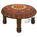 <strong>Divine Designs</strong> Embroidered Ottoman