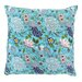 Divine Designs Santa Barbara Florals Pillow