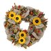<strong>Urban Florals</strong> Autumn Sunflower Harvest Wreath