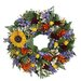 <strong>Spring / Everyday Tuscan Sunflower Wreath</strong> by Urban Florals