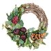 Merlot Harvest Wreath