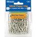 Bazic No.1 Regular (33mm) Silver Paper Clip Set