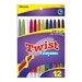 Bazic 12 Color Propelling Crayon Set