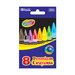 Bazic 8 Color Premium Quality Crayon Set