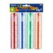 """<strong>6"""" Plastic Ruler (Set of 4)</strong> by Bazic"""