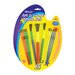 <strong>Bazic</strong> Kid's Watercolor Paint Brushes (Set of 15)