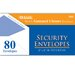 80 Ct. Security Envelopes (Set of 24) by Bazic