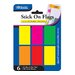 <strong>Neon Color Standard Flags (Set of 6)</strong> by Bazic