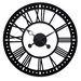 """<strong>Oversized 38"""" Skeleton Tower Wall Clock</strong> by River City Clocks"""