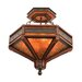 Kalco Aspen 6 Light Semi Flush Mount