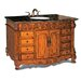 49&quot; Woodbridge Sink Vanity in Antique Brown