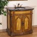 "36"" Montpelier Sink Vanity in Light Antique Brown"