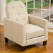 <strong>Exclusives Johnstown KD Tufted Recliner</strong> by Home Loft Concept
