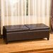 <strong>Taren Leather Storage Ottoman</strong> by Home Loft Concept