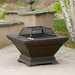 <strong>Raymond Copper Finish Fire Pit</strong> by Home Loft Concept