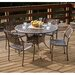 <strong>Vigo Cast Aluminum Dining Set</strong> by Home Loft Concept