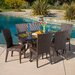 Nathan 7 Piece Dining Set by Home Loft Concept