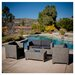 <strong>Tauton Outdoor Wicker Sofa Set</strong> by Home Loft Concept