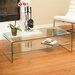 Home Loft Concept Celeia Coffee Table with Shelf