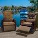 Home Loft Concept Penzance PE Wicker Outdoor Recliner