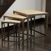 <strong>Milford Weathered Wood Tables (Set of 3) (Set of 3)</strong> by Home Loft Concept