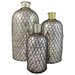 <strong>Import Collection</strong> 3 Piece Troy Decorative Bottle Set