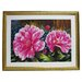 <strong>Alpine Art and Mirror</strong> Premier Blooming Peony Framed Painting Print