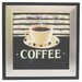 Alpine Art and Mirror Kitchen Coffee Framed Graphic Art