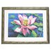 Alpine Art and Mirror Premier Water Lilly II Framed Painting Print