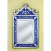 Natasha Medium Wall Mirror in Blue