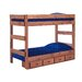 <strong>Twin Over Twin Standard Bunk Bed with Storage</strong> by Chelsea Home