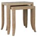 <strong>HGTV Home</strong> 2 Piece Nesting Tables
