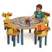 Room Magic Boys Like Trucks Kids' 5 Piece Table and Chair Set