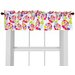 Heart Throb Cotton Curtain Valance