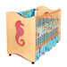 Tropical Seahorse Crib / Toddler Bed in Chocolate