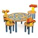 Boys Like Trucks Kids' 3 Piece Table and Chair Set
