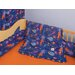 Star Rocket 4 Piece Crib Bedding Set