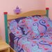 Little Girl Tea Set Panel Twin Headboard