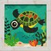 <strong>Terrance Turtle Framed Graphic Art</strong> by Artistic Reflections