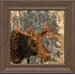 <strong>Lodge Moose Framed Painting Print</strong> by Artistic Reflections
