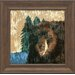 <strong>Artistic Reflections</strong> Lodge Bear Framed Painting Print