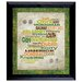 <strong>American Coin Treasures</strong> Luck Of The Irish Wall Framed Textual Art with Coins in Black