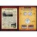 <strong>New York Times Bicentennial Coin Collection Wall Framed Memorabilia</strong> by American Coin Treasures