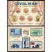 <strong>Civil War Coin and Stamp Framed Memorabilia</strong> by American Coin Treasures