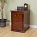 kathy ireland Home by Martin Furniture Huntington Club Two Drawer File Pedestal