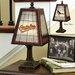 MLB Art Glass Table Lamp
