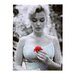 <strong>Marilyn 1951 Photographic Print on Canvas</strong> by Amrita Singh