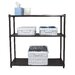 "<strong>Slat 35"" H 3 Shelf Shelving Unit Starter</strong> by Trinity"